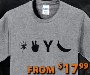Get your Spider 2 Y Banana T-Shirt here!