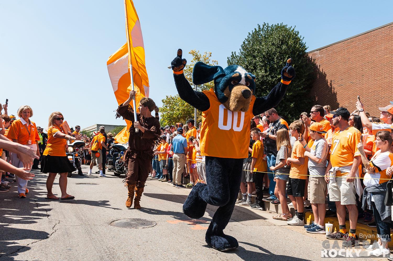 Tennessee Volunteers Smokey mascot