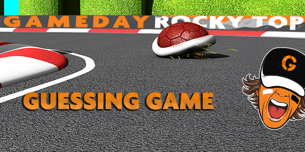 Gameday on Rocky Top Guessing Game